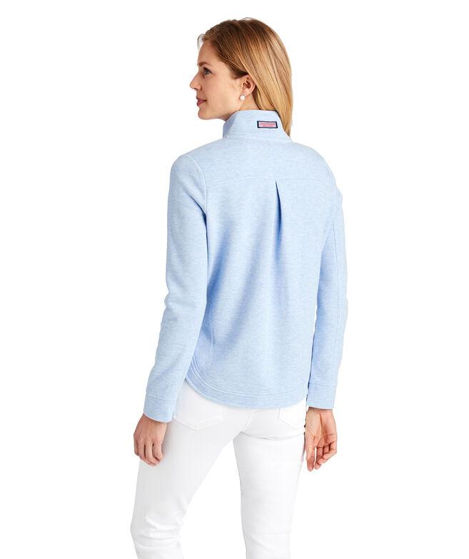 Heather Full-Zip Shep Shirt