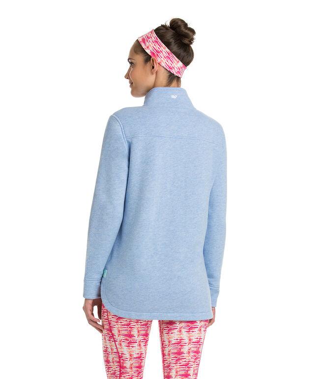 Heathered Pouch Pocket Shep Shirt