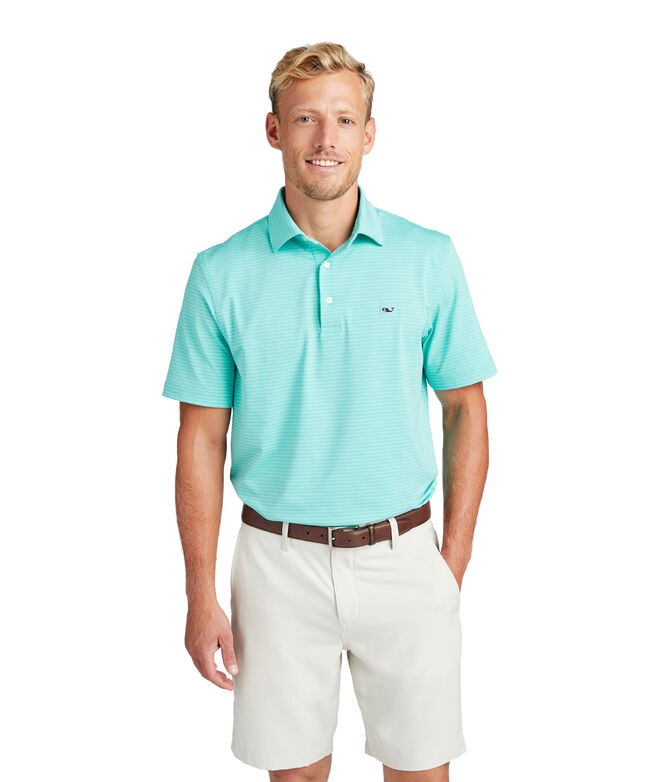 Wilson Stripe Sankaty Performance Polo
