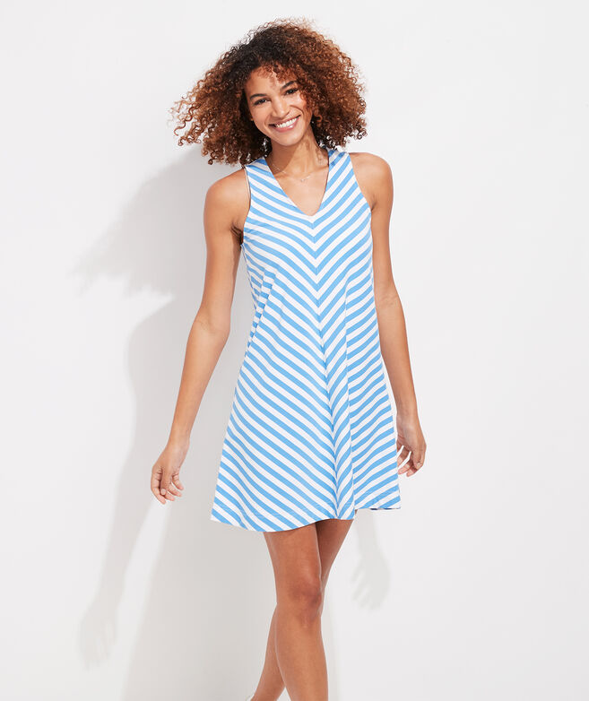 Edgartown Striped Swing Dress
