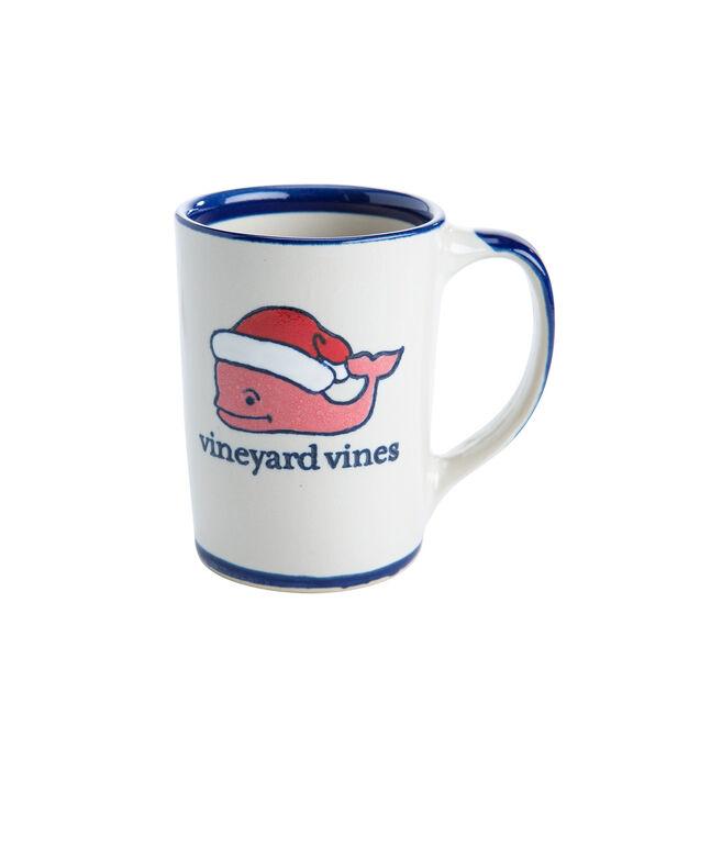 Santa Stoneware Mug