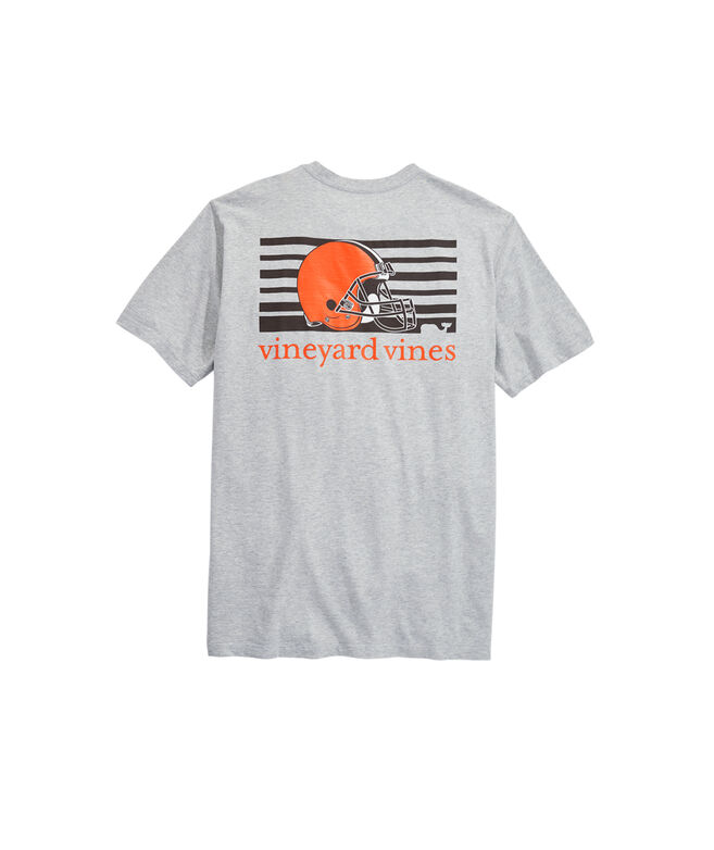 Cleveland Browns Block Stripe Tee