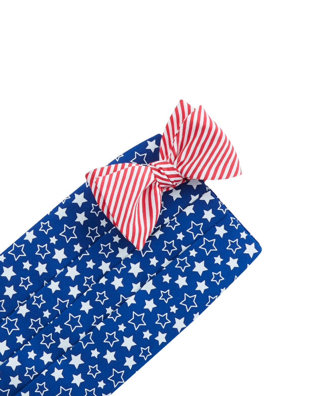 Stars & Stripes Cummerbund Set