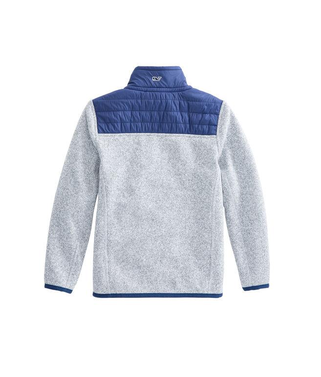 Boys Sweater Fleece Full-Zip Shep Shirt