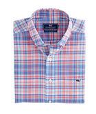 George Hill Plaid Tucker Shirt