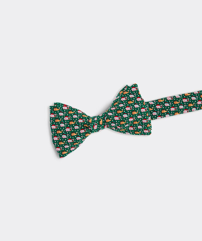 Santa's Helper Printed Bow Tie
