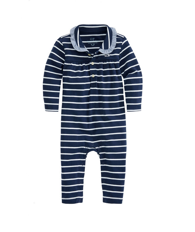 Baby Break Stripe Coverall