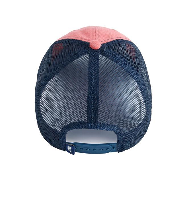Low Profile Lax Patch Trucker Hat
