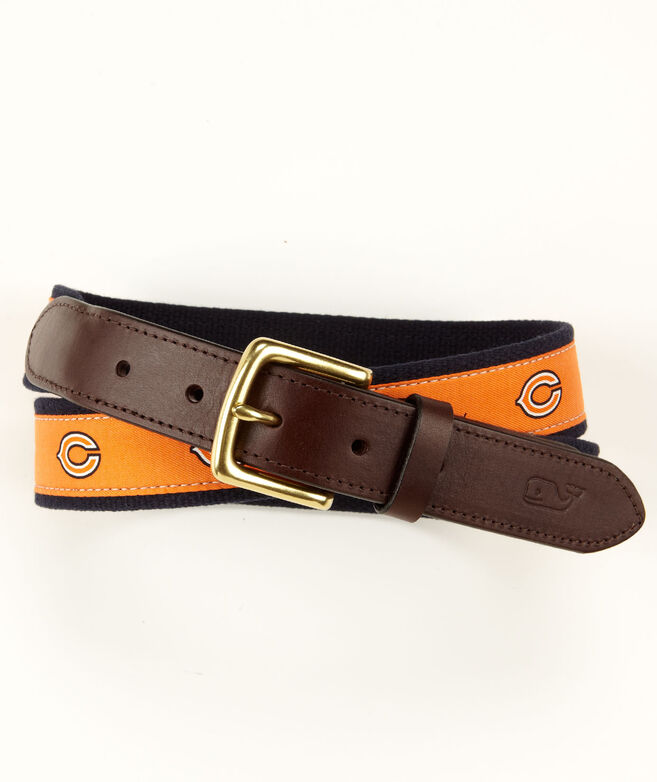 Chicago Bears Canvas Club Belt