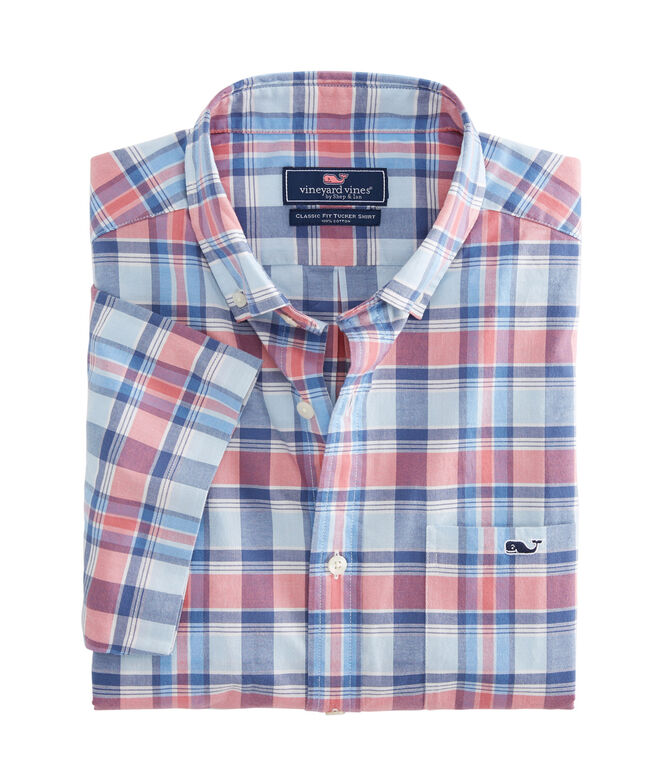 Classic Fit Topsail On-The-Go Performance Short-Sleeve Tucker Shirt