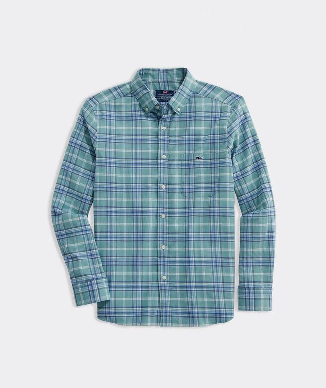 Big & Tall Island Twill Plaid Shirt
