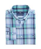 Boathouse Plaid Slim Tucker Shirt