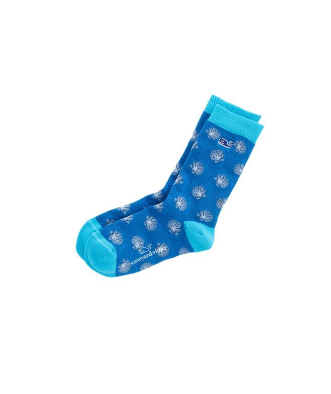 Boys Shells Icon Socks