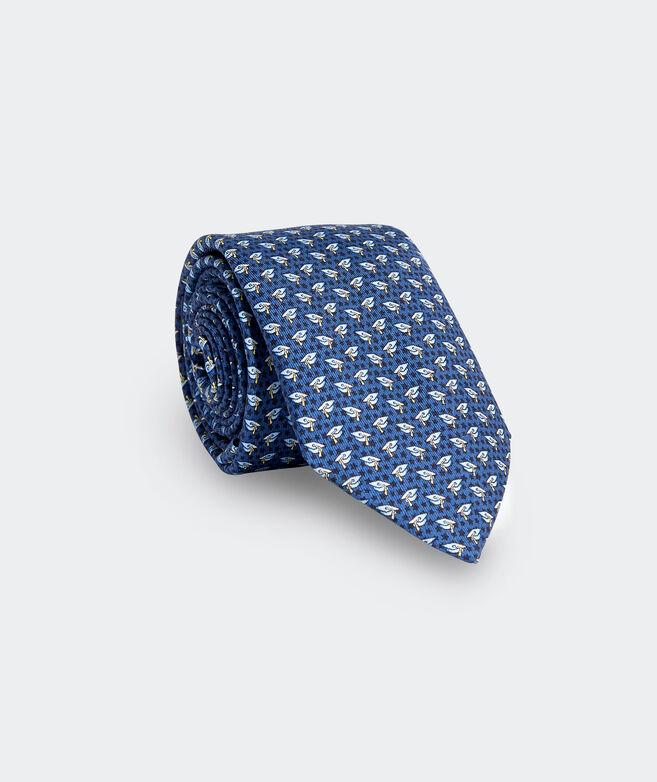 Boys' Grad Caps Printed Tie