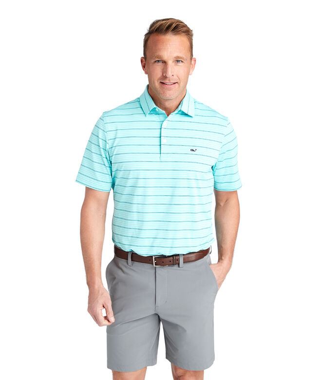 Bluff Stripe Sankaty Performance Polo
