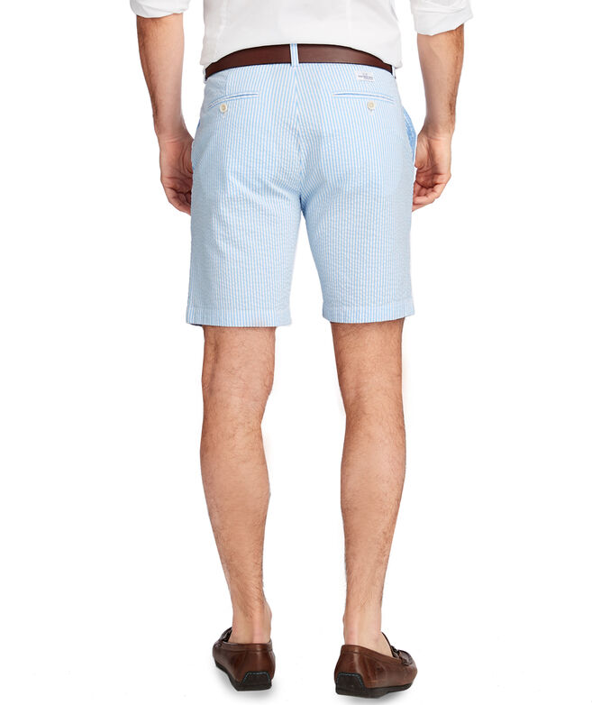 OUTLET Men's 9 Inch Seersucker Breaker Shorts