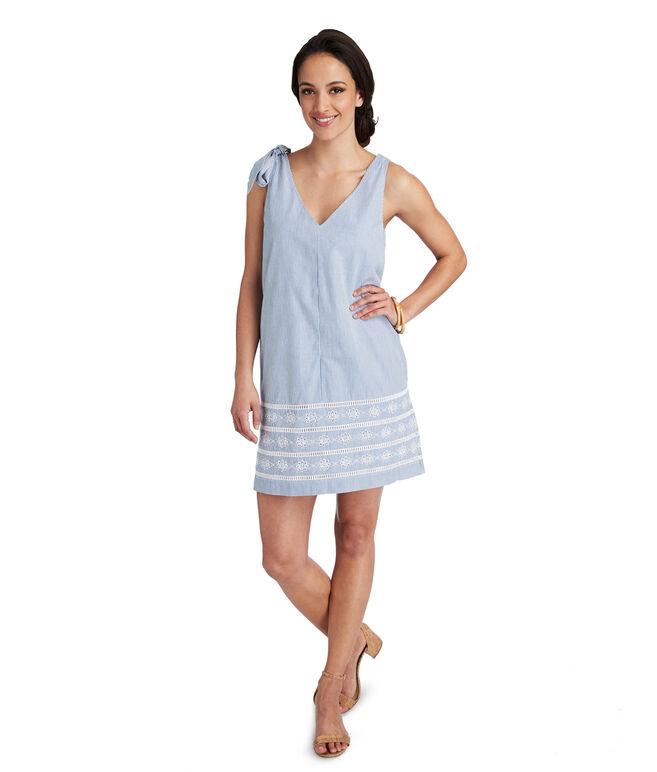 Sandbar Stripe Bow Dress