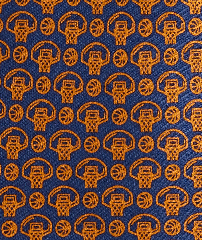 Boys' Basketball Printed Tie