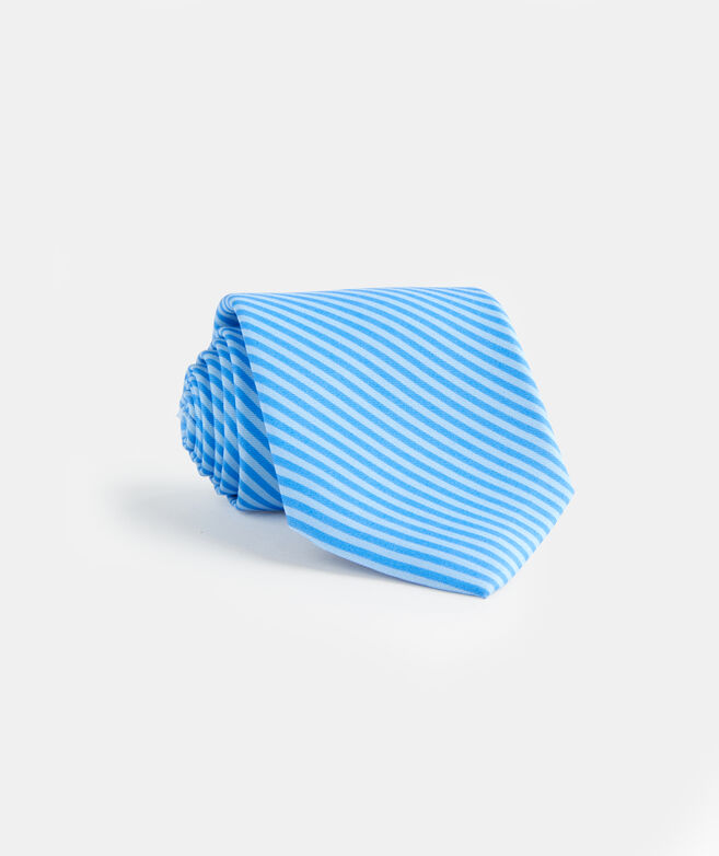Feeder Stripe Printed Tie