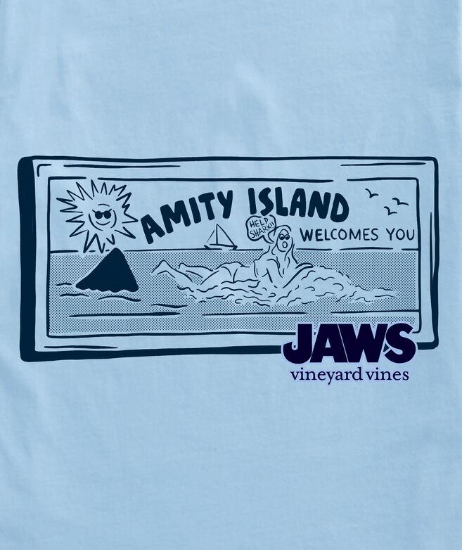 vineyard vines x JAWs Welcome To Amity Island Short-Sleeve Tee