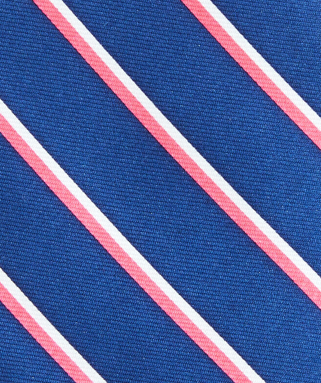 Double Stripe Printed Tie