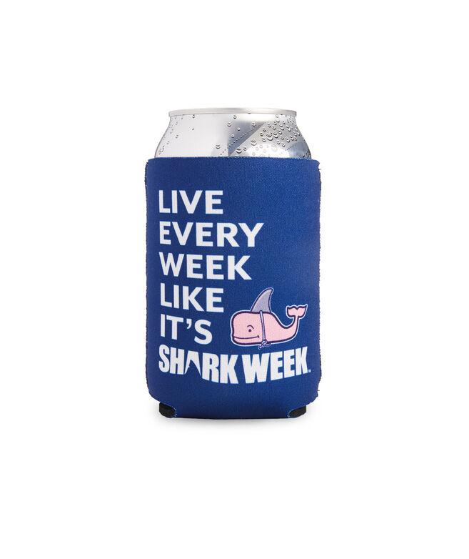 Shark Week Logo Coozie