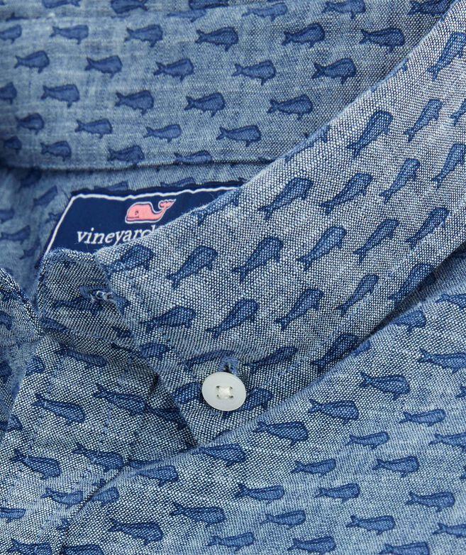 Slim Short-Sleeve Mini Mahi Murray Shirt