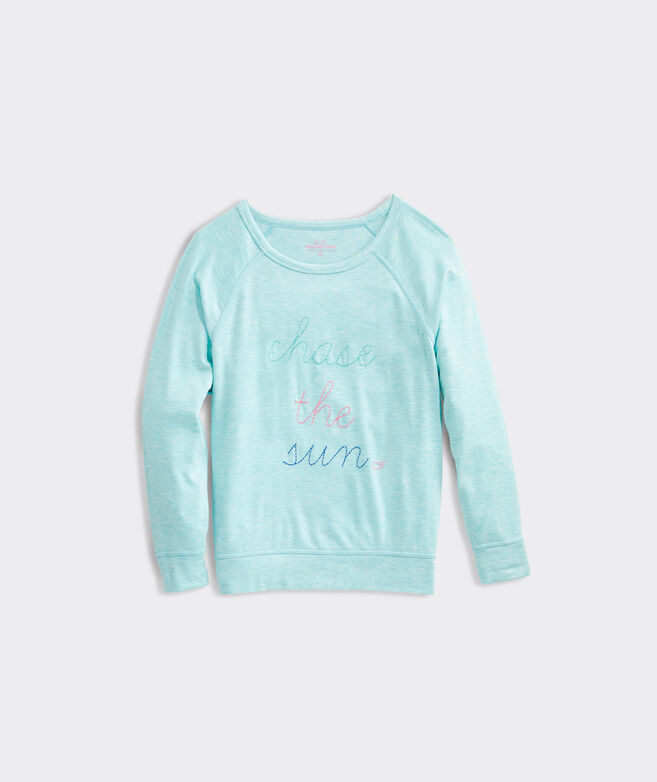 Girls' Long-Sleeve Dreamcloth Chase The Sun Sweatshirt