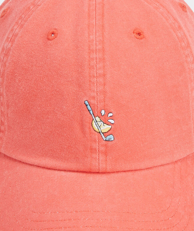 Lemon Wedge Icon Baseball Hat