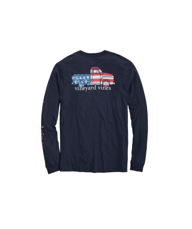 Americana Truck Long-Sleeve Pocket Tee