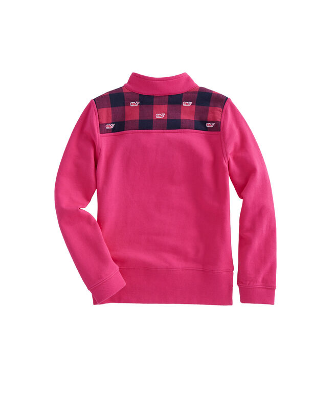Girls Buffalo Check Embroidered Shep Shirt