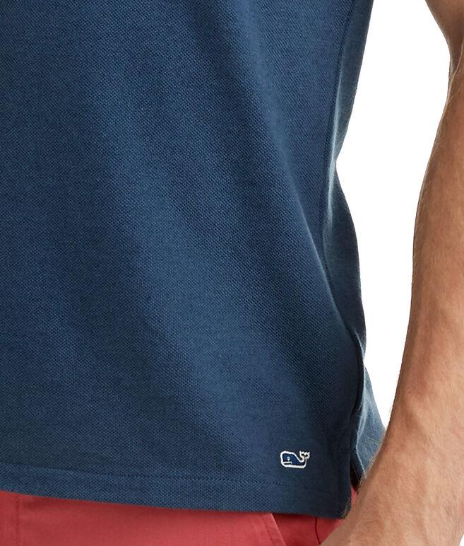 Cashmere Blend Pique Polo
