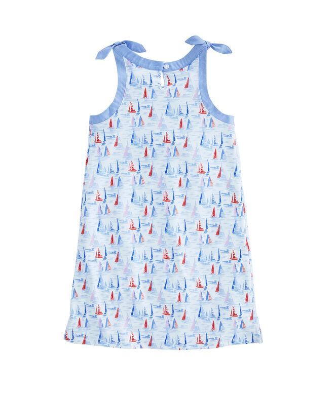 Girls Sailboat Sankaty Swing Dress