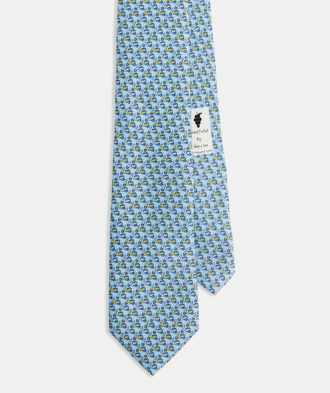 Scooters Printed Tie
