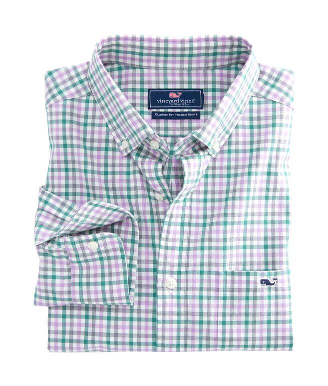 Pondview Plaid Classic Tucker Shirt