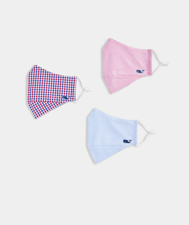 Oxford Mask 3-Pack