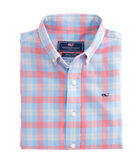 Boys Hullman Point Plaid Whale Shirt
