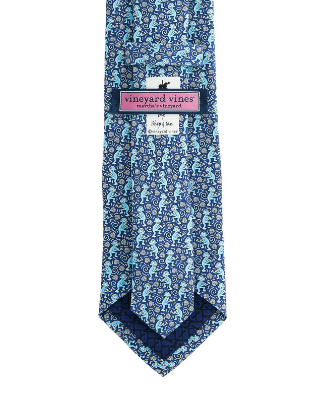 Boys New Monkey Fist Printed Tie