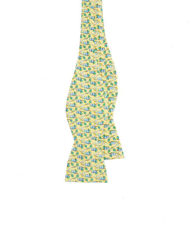 Kentucky Derby Mint Julep Printed Bow Tie