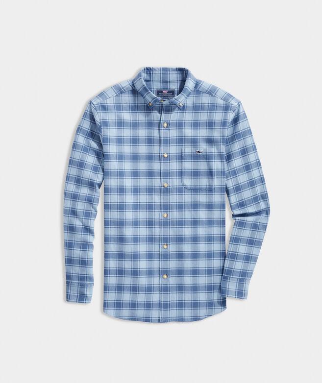 Big & Tall Classic Fit Plaid Flannel Tucker Shirt