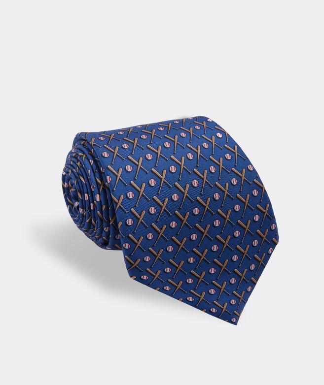 Baseball Printed Tie