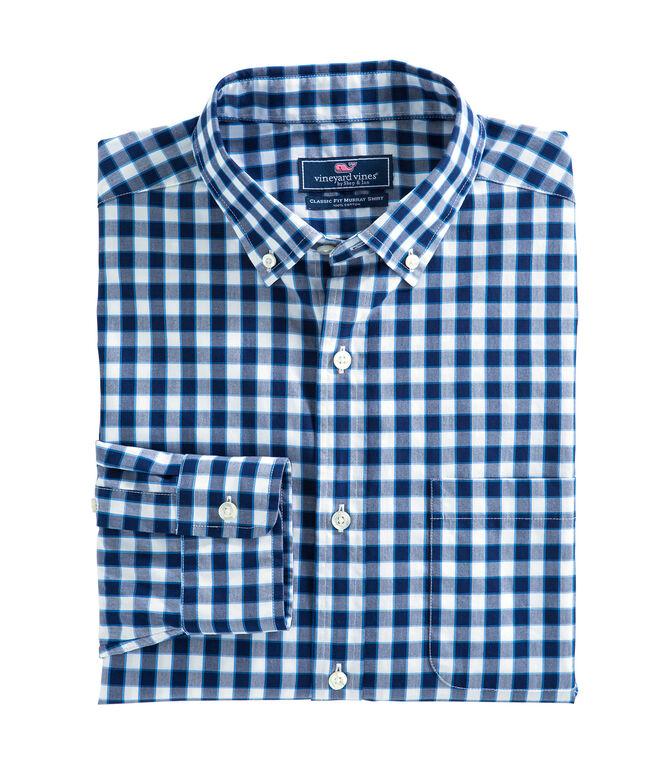 Tilden Gingham Classic Murray Shirt