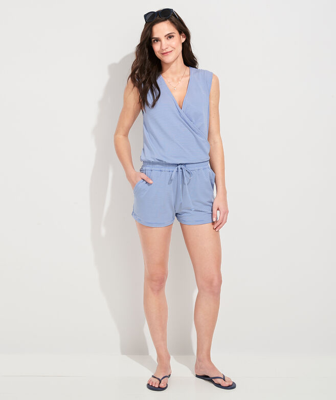 Sleeveless Sankaty Romper Cover-Up