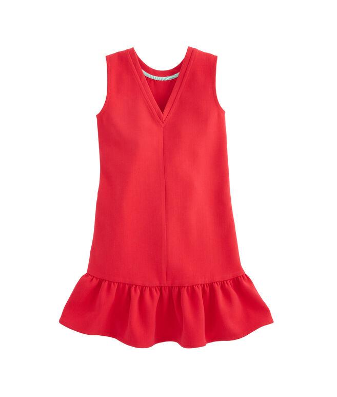 Girls Ponte Sleeveless Party Dress