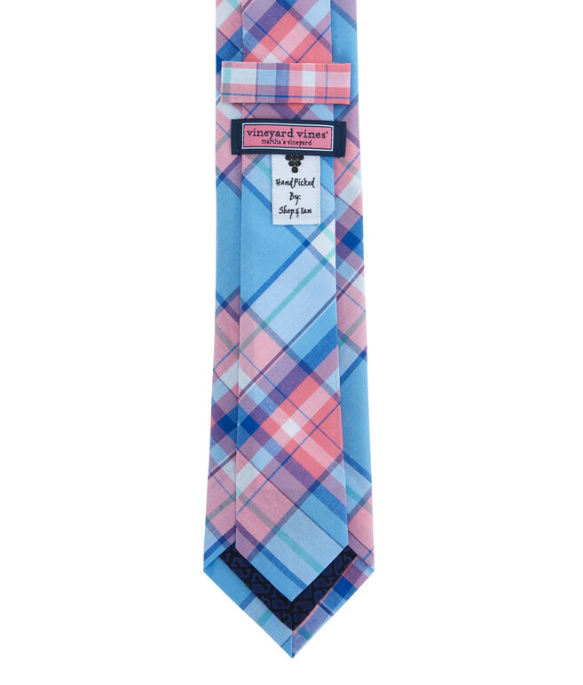 Kennedy Plaid Skinny Tie