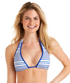 Yacht Stripe 3-In-1  Swim Top