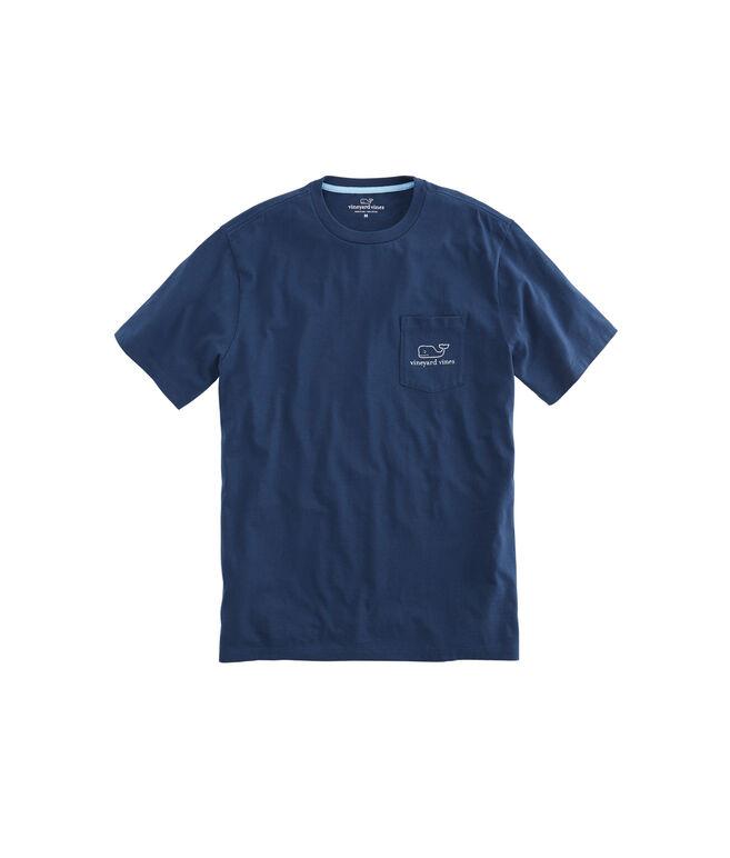 Vintage Whale Pocket T-Shirt