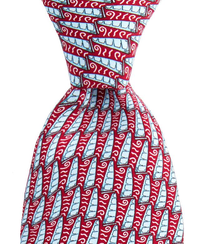 Racing Foil Printed Tie