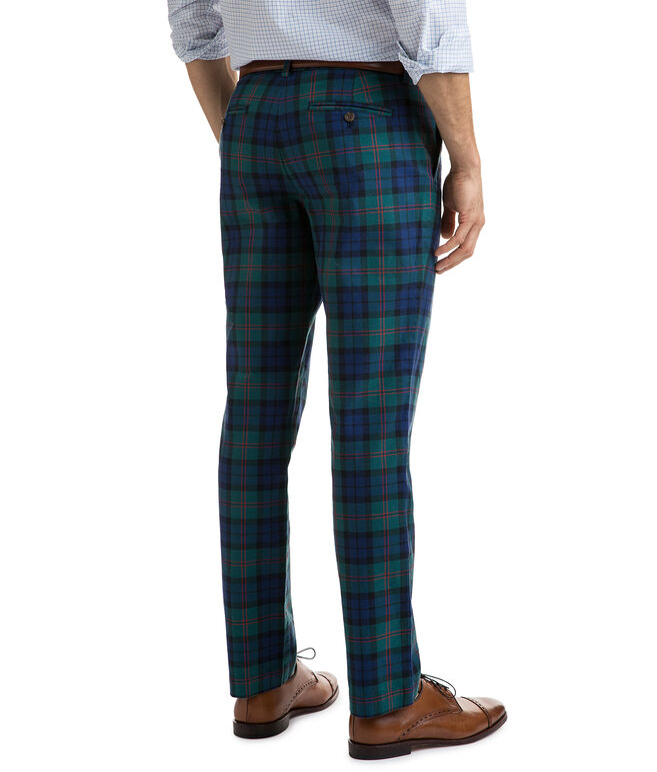 Holiday Tartan Breaker Pants