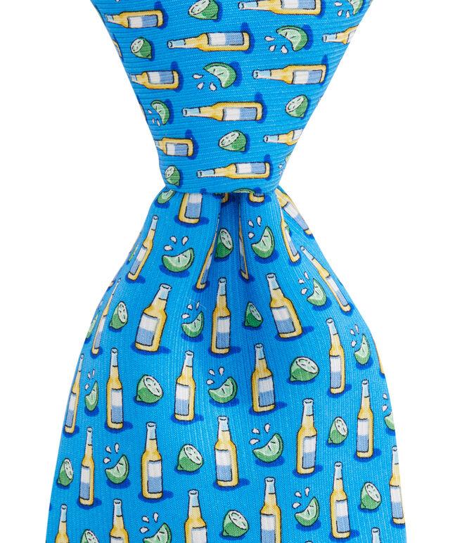 Beer & Lime Tie